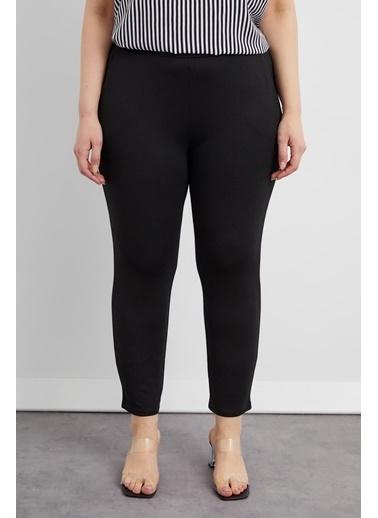 Curly Siyah, Havuç Pantolon Siyah